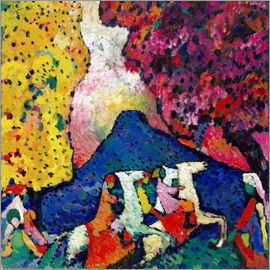 Wassily Kandinsky - Blue Mountain