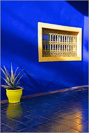 Guy Thouvenin - Blue house, Majorelle Garden