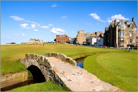 Bill Bachmann - View of the Old Course at St. Andrews