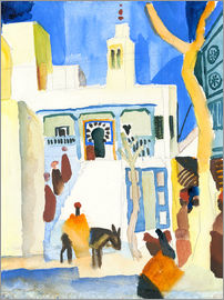 August Macke - Vue d'une mosquée