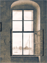 Caspar David Friedrich - View from the studio