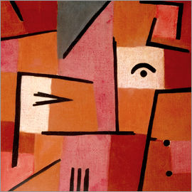Paul Klee - Looking at Red