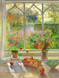 Timothy Easton - Overlooking the garden