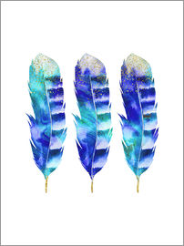 Andrea Haase - blue feather