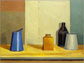 William Packer - Blue Jug Alone