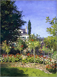 Claude Monet - Garden in bloom