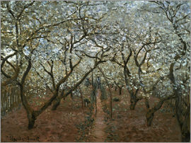 Claude Monet - Blossoming Orchard