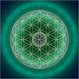 Christine Bässler - Flower of Life 11