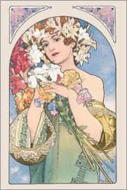 Alfons Mucha - Flower, nature