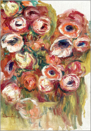Pierre-Auguste Renoir - Flowers in a greenhouse