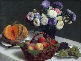Henri de Fantin-Latour - Flowers & Fruits