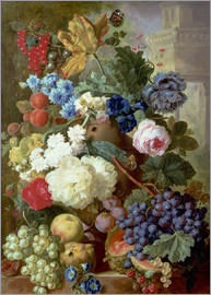 Jan van Os - Flowers and Fruit