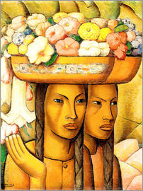Alfredo Ramos Martinez - Flower Sellers