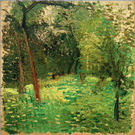 Richard Gerstl - Flowery meadow with trees