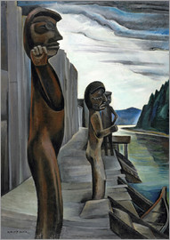 Emily Carr - Blunden harbour totems