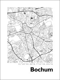 44spaces - Bochum City Map HF 44spaces
