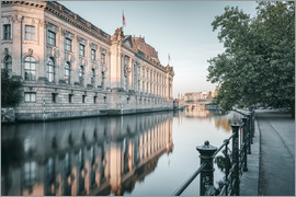 Philipp Dase - Bode Museum Reflection in the River Spree