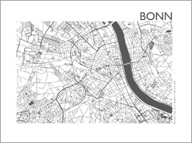 44spaces - BONN CARD steelgray 44spaces
