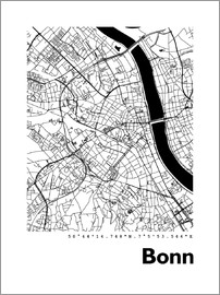 44spaces - Bonn city map HF 44spaces