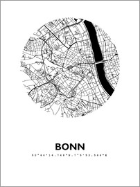 44spaces - Bonn city map HFR 44spaces