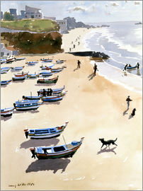 Lucy Willis - Boats on the Beach