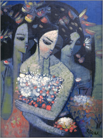 Endre Roder - Bouquet of Flowers
