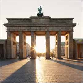 Markus Lange - Brandenburg gate at sunrise
