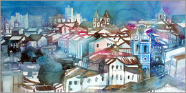 Johann Pickl - Brazil, Salvador Bahia, views of Igreja e Convento do Carmo