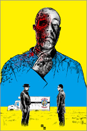 Paola Morpheus - Breaking Bad Gus Fring death whit blood