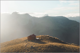 Nicky Price - Brewster Hut, Mount Aspiring National Park, Southern Alps, UNESCO World Heritage Site, South Island,