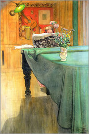 Carl Larsson - Brita at the Piano
