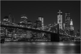 Thomas Klinder - Brooklyn Bridge at Night