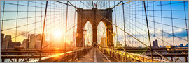 Jan Christopher Becke - Brooklyn Bridge in New York City, USA