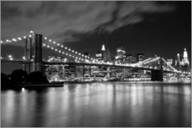 Brooklyn Bridge - Night scene