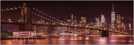 Melanie Viola - Brooklyn Bridge and Manhattan Skyline