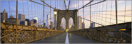 Brooklyn Bridge in Manhattan, New York