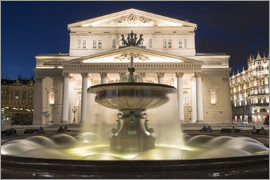 Fountain and Bolshoi Theatre