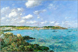 Eugène Boudin - The Bay of Douarnenez