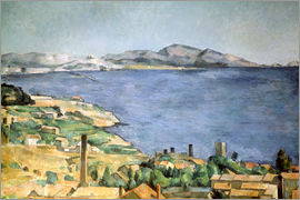 Paul Cézanne - Bay of Marseille