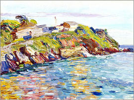 Wassily Kandinsky - Bay of Rapallo