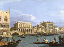 Antonio Canaletto - The Bucintoro at the Molo on Ascension Day