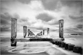 Rico Ködder - Groynes on the Baltic Sea coast in Zingst, Germany