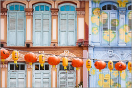 Matteo Colombo - Colourful windows in Chinatown, Singapore