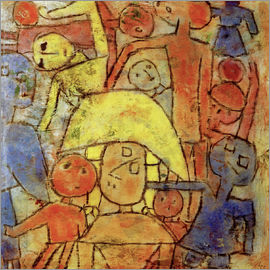 Paul Klee - Colorful group