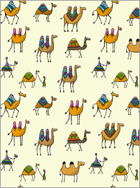 Kidz Collection - Colorful camels