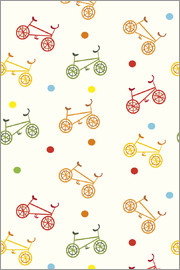 Kidz Collection - Colorful Bikes