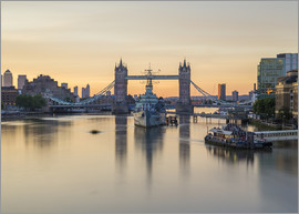Mike Clegg Photography - Colourful sunrises in London