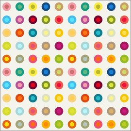 Jaysanstudio - vintage colourful circles