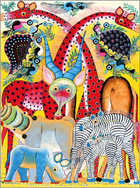 Lewis - Colorful wild animals of Africa