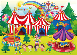 Kidz Collection - Colorful circus